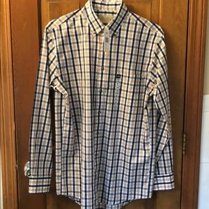 Cabelas plaid dress shirt